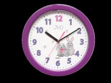Nástěnné hodiny do dětského pokoje JVD  HP612.D2
