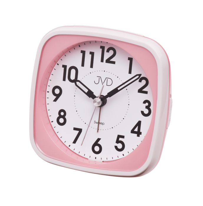 Nástěnné hodiny Analogový budík JVD sweep SRP838.4 Nástěnné hodiny