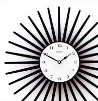 Designové hodiny D&D 369 Meridiana 36cm Meridiana barvy kov černý lak