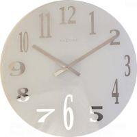 Designové nástěnné hodiny 2472 Nextime Mirror 43cm