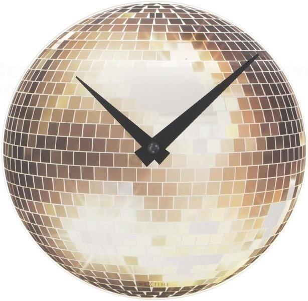 NeXtime Designové nástěnné hodiny 5172 Nextime Disco 20cm