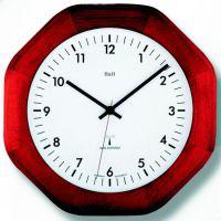 Nástěnné hodiny dřevěné 4085.2 RC hranaté
