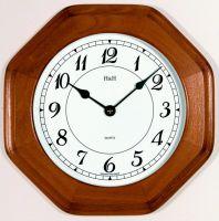 Nástěnné hodiny hranaté m4271.7 medová barva, m4272.3 buk