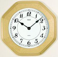 osmihranné hodiny barva buk