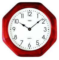 Nástěnné hodiny dřevěné 4065.4 hranaté