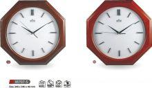 Dřevěné nástěnné hodiny M707-S DW, W