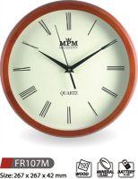 Nástěnné hodiny dřevěné FR107