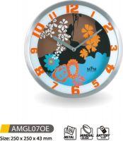 Nástěnné hodiny kovové AMGL07OE