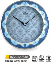 Nástěnné hodiny kovové RC2212PB.BE