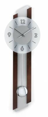 Kyvadlové hodiny AMS 7207/18, 7207/1 AMS 7207/1 masivní ořech s hliníkovou vložkou