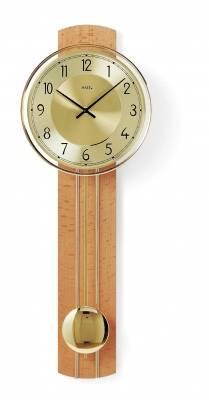 Kyvadlové hodiny AMS 7115/9 třešeň, 7115/18 buk, 7115/1 ořech hodiny na zeď, pendlovky AMS 7115/18 buk