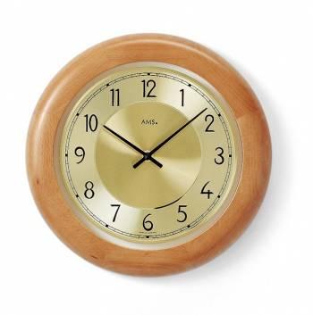 Diamantini&Domeniconi Nástěnné hodiny dřevěné AMS 9063/18, 9063/1 AMS 9063/18
