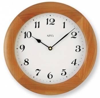 Dřevěné nástěnné hodiny AMS