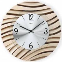Designové nástěnné hodiny AMS 9328
