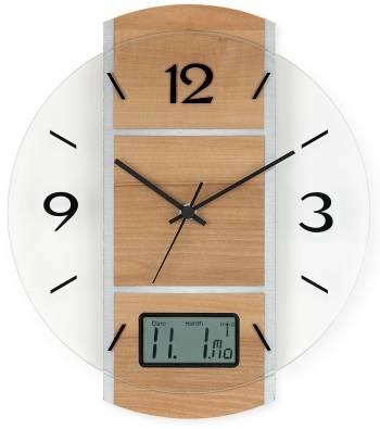 Rádiem řízené nástěnné hodiny AMS 5915 AMS 5915