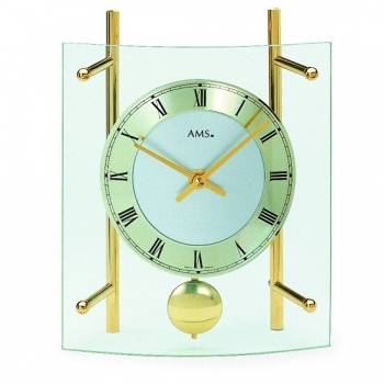 Stolní hodiny - pendlovky AMS 137, 135 AMS 135