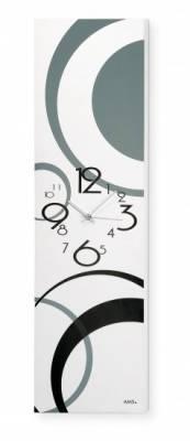 Designové nástěnné hodiny AMS 9253