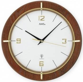 Nástěnné hodiny AMS 5832 rádiem řízené