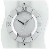 Nástěnné hodiny AMS 5909 stříbrná