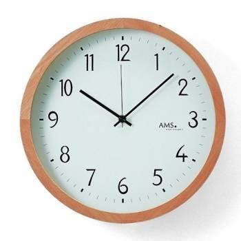 Nástěnné hodiny rádiem řízené AMS 5817