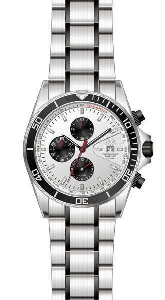 pánské hodinky,Náramkové hodinky JVD steel J1014.1, chromografy J1014.1.5