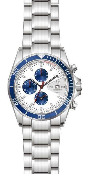 pánské hodinky,Náramkové hodinky JVD steel J1014.1, chromografy J1014.2.6