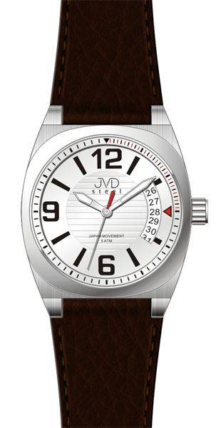pánské hodinky, Náramkové hodinky JVD steel J1050.1 J1050.1.2