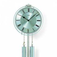 Luxusní mechanické kyvadlové kovové hodiny AMS 358