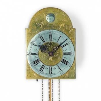 Luxusní mechanické kyvadlové kovové hodiny AMS 382
