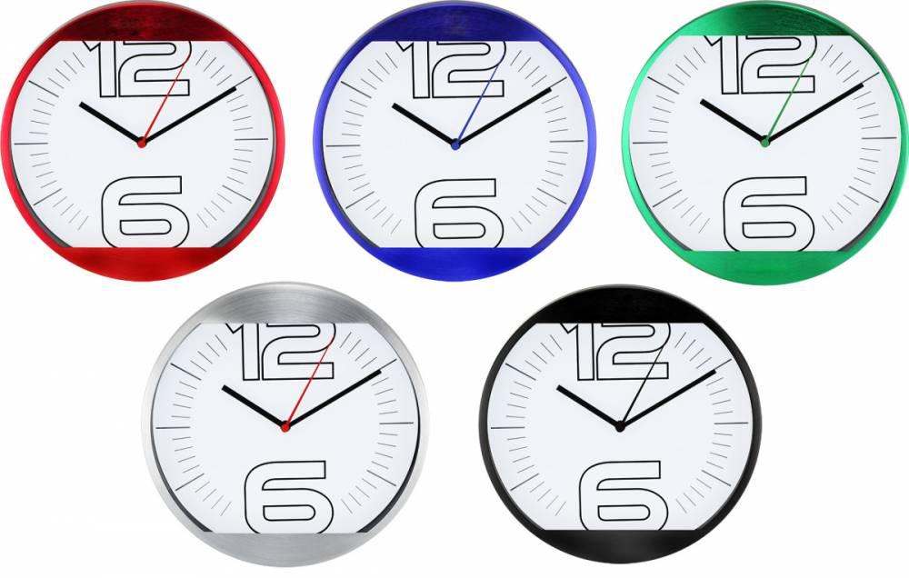 MPM Quality Nástěnné hodiny kovové MPM M2810 E