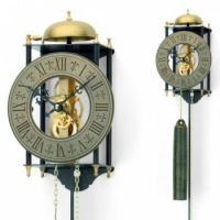 Originální mechanické kyvadlové kovové hodiny AMS 301, AMS 302